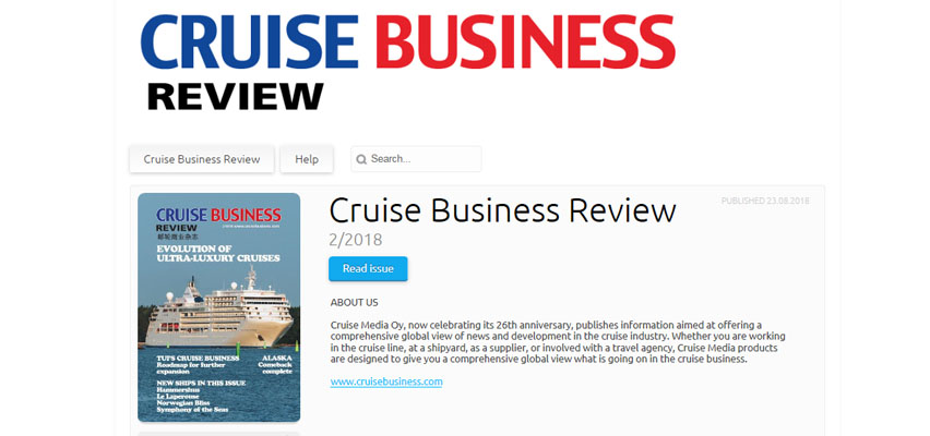 Cruise Business Review MariGroup