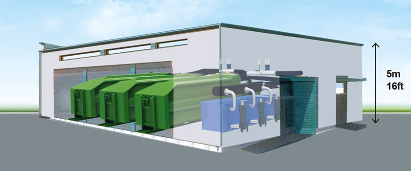 waste transfer station