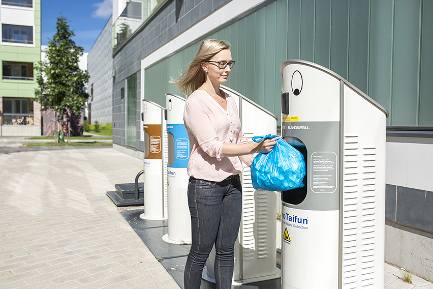 KV Waste Collection Inlets MetroTaifun Finland