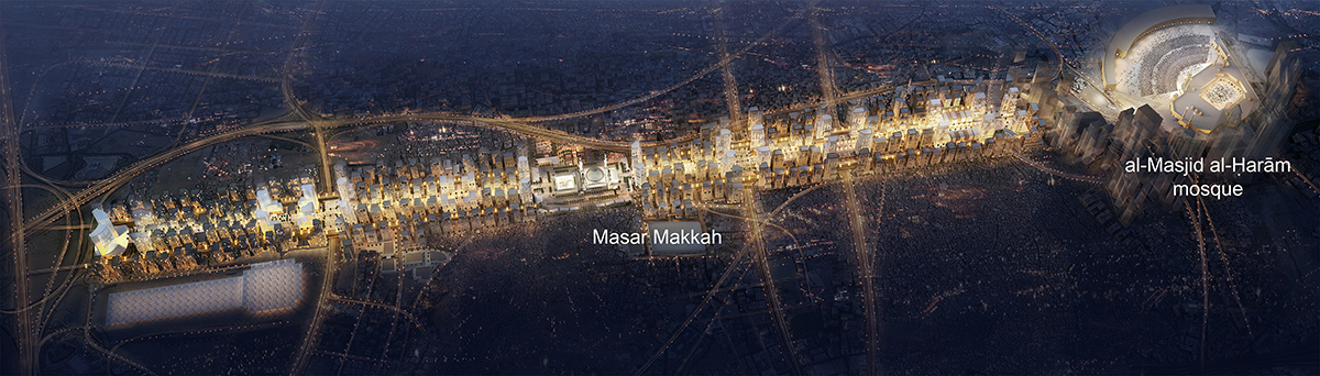 Masar Makkah High resolution aerial view with texts lowres